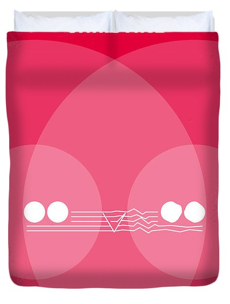 No016 My Christine Minimal Movie Poster Duvet Cover by Chungkong Art