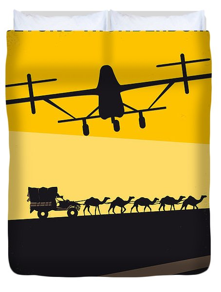 No051 My Mad Max 3 Beyond Thunderdome Minimal Movie Poster Duvet Cover