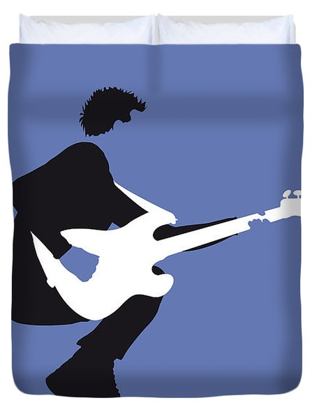 No058 My The Police Minimal Music Poster Duvet Cover