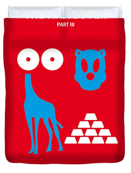 No145 My The Hangover Part 3 Minimal Movie Poster Duvet Cover