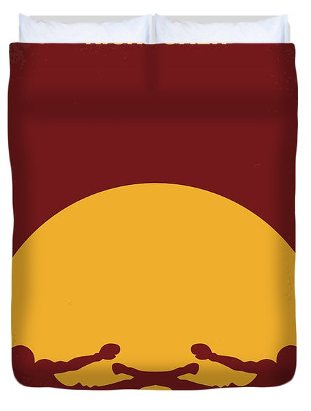 No178 My Kickboxer Minimal Movie Poster Duvet Cover by Chungkong Art