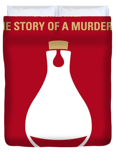 No194 My Perfume The Story Of A Murderer Minimal Movie Poster Duvet Cover