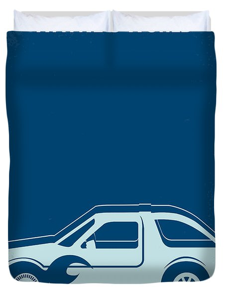 No211 My Waynes World Minimal Movie Poster Duvet Cover