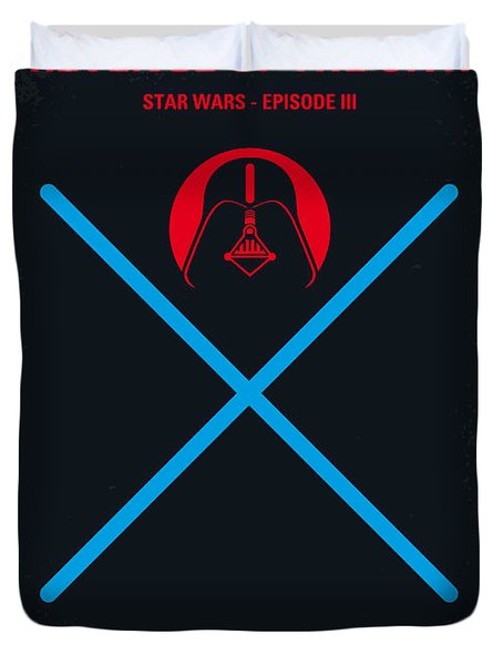 No225 My Star Wars Episode IIi Revenge Of The Sith Minimal Movie Poster Duvet Cover