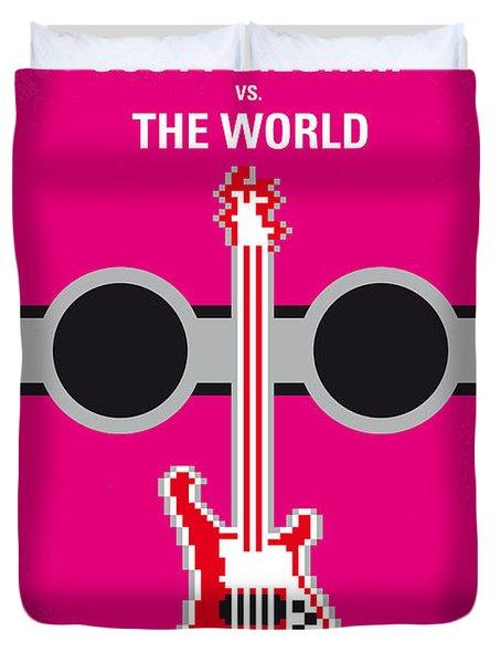 No236 My Scott Pelgrim Minimal Movie Poster Duvet Cover