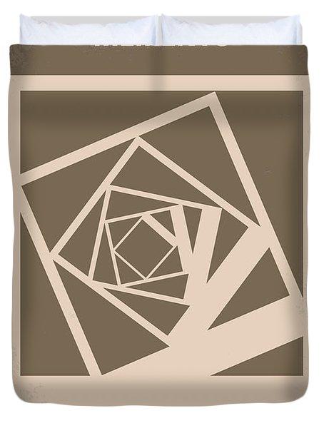 No243 My Memento Minimal Movie Poster Duvet Cover