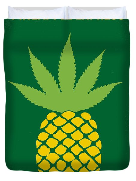 No264 My Pineapple Express Minimal Movie Poster Duvet Cover