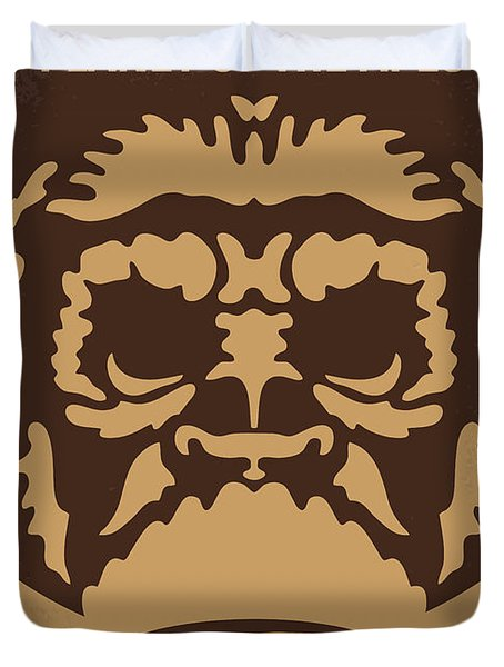 No270 My Planet Of The Apes Minimal Movie Poster Duvet Cover