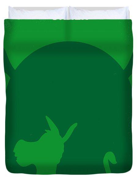 No280 My Shrek Minimal Movie Poster Duvet Cover