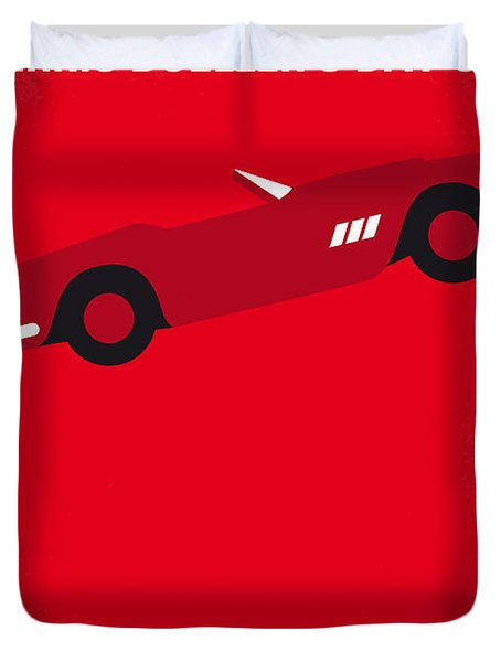 No292 My Ferris Bueller's Day Off Minimal Movie Poster Duvet Cover