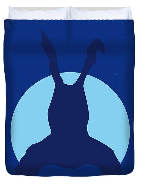 No295 My Donnie Darko Minimal Movie Poster Duvet Cover