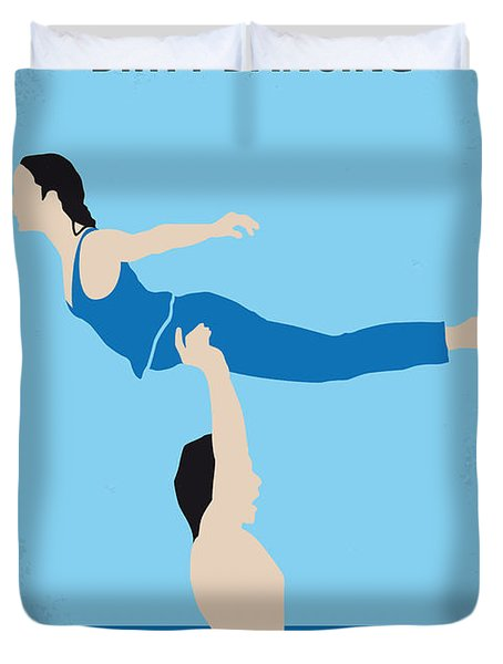 No298 My Dirty Dancing Minimal Movie Poster Duvet Cover