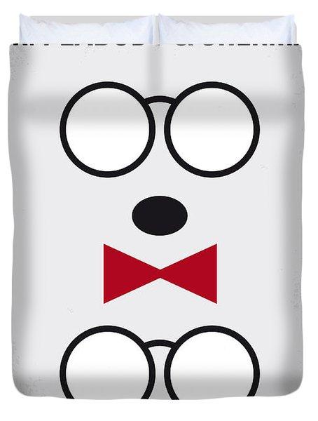 No324 My Mr Peabody Minimal Movie Poster Duvet Cover
