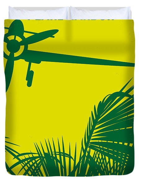 No335 My Pearl Harbor Minimal Movie Poster Duvet Cover