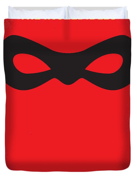 No368 My Incredibles Minimal Movie Poster Duvet Cover