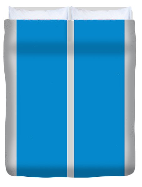 No407 My Need For Speed Minimal Movie Poster Duvet Cover