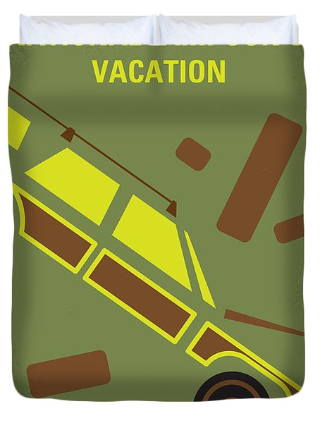 No412 My National Lampoons Vacation Minimal Movie Poster Duvet Cover