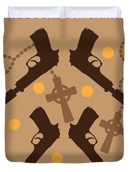No419 My Boondock Saints Minimal Movie Poster Duvet Cover