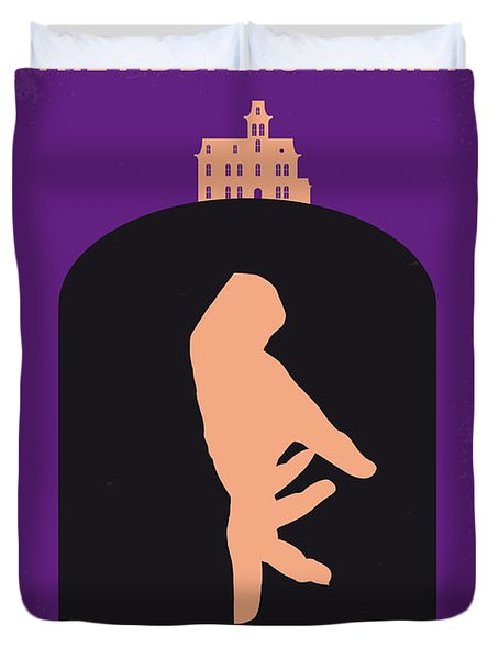 No423 My The Addams Family Minimal Movie Poster Duvet Cover