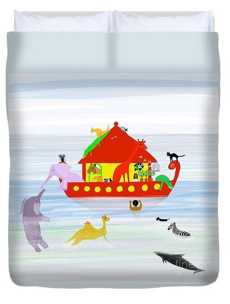 Noah's Ark Duvet Cover