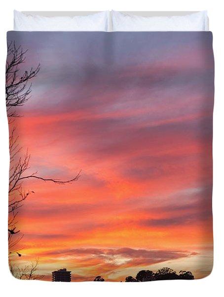 Nob Hill Sunset Duvet Cover