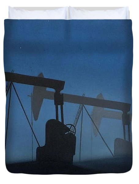 Nocturnal Donkeys Duvet Cover