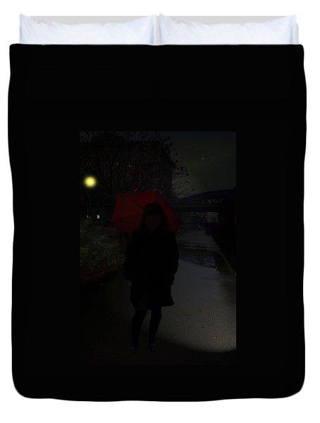 Noir Duvet Cover by Joyce  Wasser