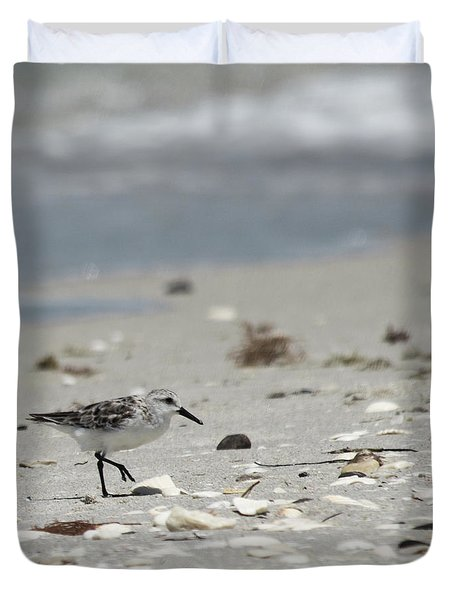 Nokomis Beach Piper Duvet Cover