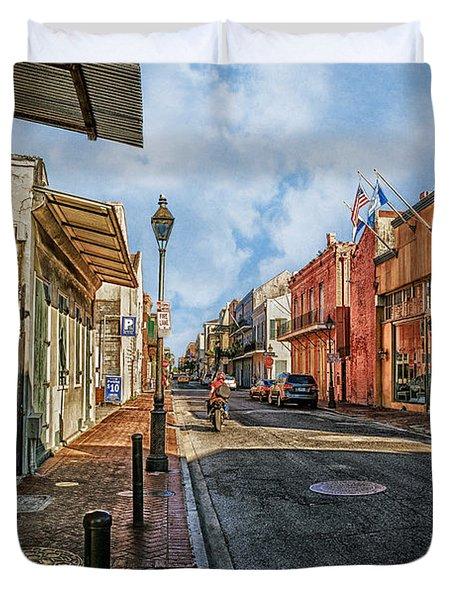 Nola French Quarter Duvet Cover by Sennie Pierson