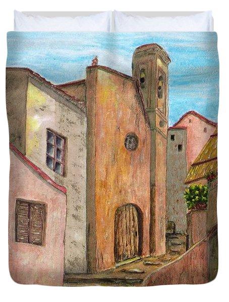 Nola Duvet Cover by Pamela Allegretto