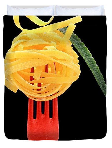 Noodles Duvet Cover