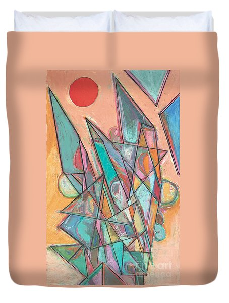 Noontime Duvet Cover by Allan P Friedlander