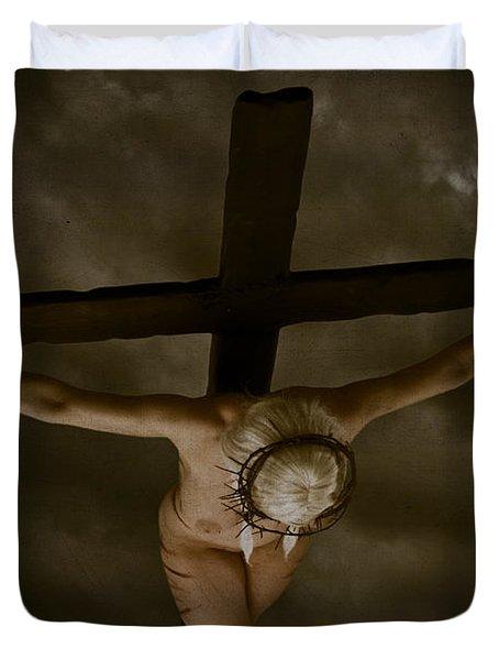 Nordic Crucifix Duvet Cover