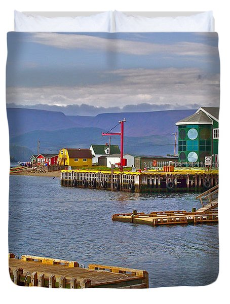 Norris Point In Gros Morne Np-nl Duvet Cover