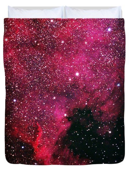 North American Nebula Duvet Cover by Alan Vance Ley