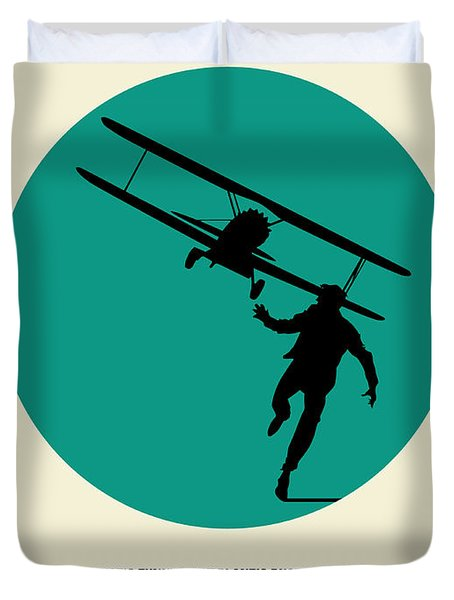 North By Northwest Poster 1 Duvet Cover