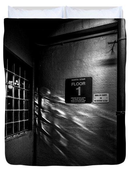 North Floor 1 Duvet Cover by Bob Orsillo