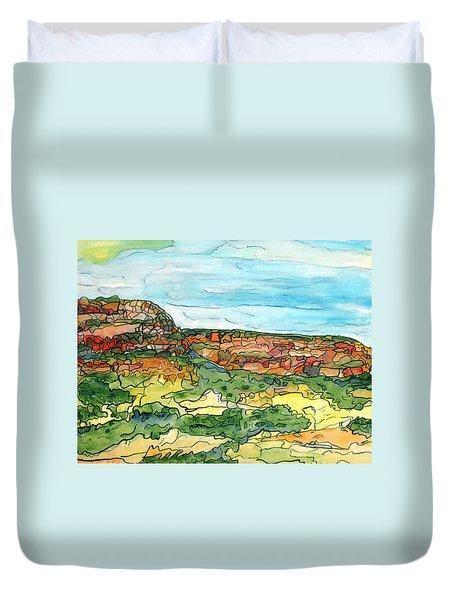North Mesa Duvet Cover