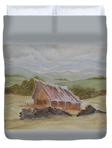 North Of Winnemucca Duvet Cover by Joel Deutsch