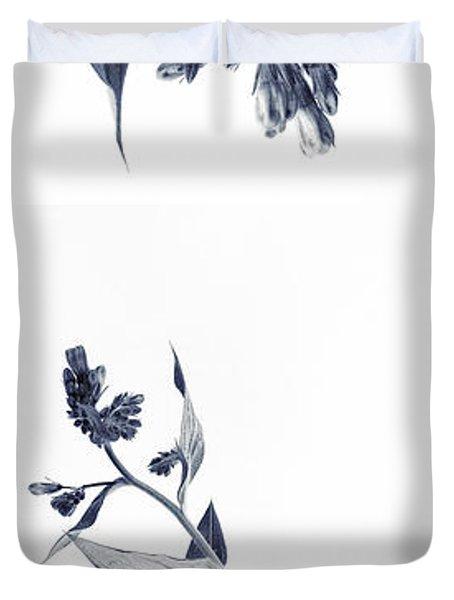 Northern Bluebells Duvet Cover by Priska Wettstein