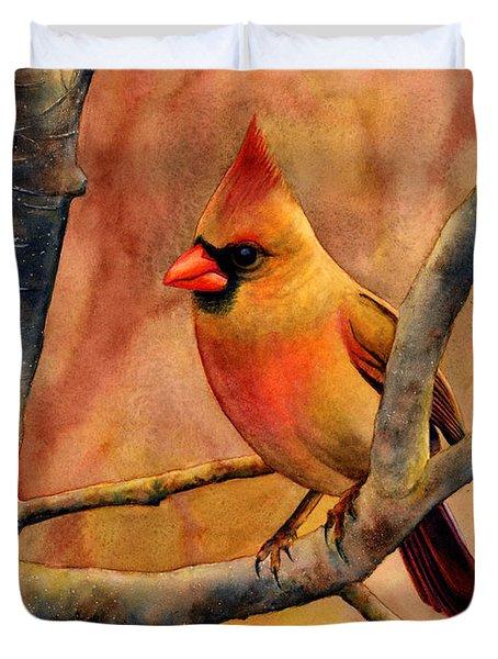 Northern Cardinal II Duvet Cover
