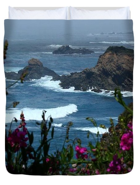 Northern Coast Beauty Duvet Cover by Patrick Witz