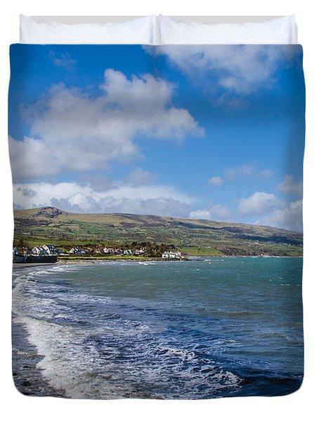 Northern Ireland Coast Duvet Cover