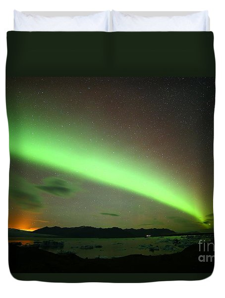 Northern Lights 2 Duvet Cover