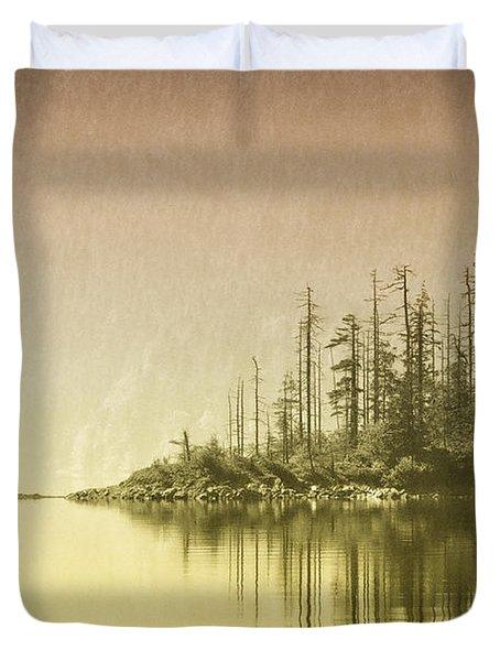 Northwest Islet Duvet Cover