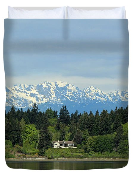Northwest Living II Duvet Cover by E Faithe Lester