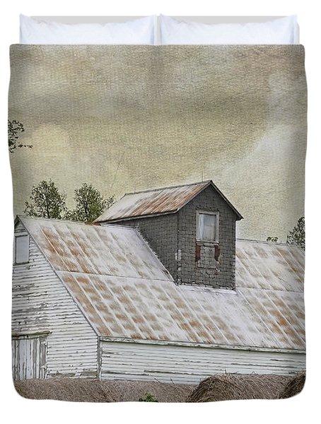 Nortonville Kansas Duvet Cover by Liane Wright
