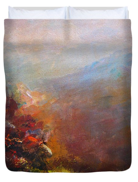 Nostalgic Autumn Duvet Cover