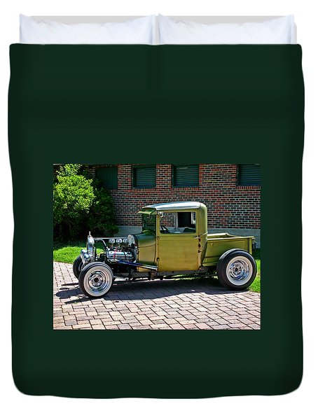 Duvet Cover featuring the photograph Not So Typical Pick-up by Christopher McKenzie
