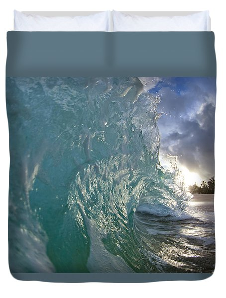 Coconut Curl Duvet Cover